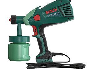 3D asset Bosch Spray Gun