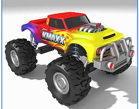 Monster Truck motors 3D model