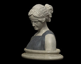 Classical Bust of a Woman 3D model