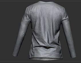 T Shirt Long sleeves 3D asset