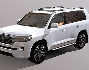 game-ready Toyota Land Cruiser 3D Model