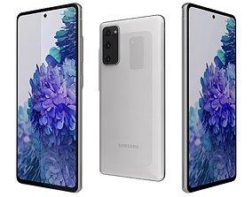Samsung Galaxy S20 FE Cloud White 3D