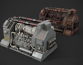 Machinery device 3D PBR compressor