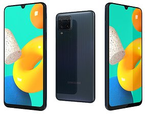 Samsung Galaxy M32 Black 3D