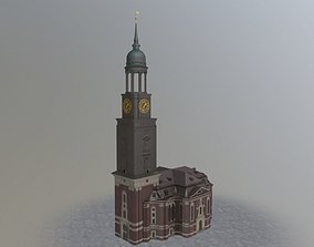 3D model Hamburg St Michaelis Hauptkirche