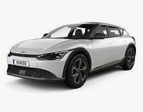 Kia EV6 2022 3D hatchback