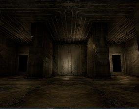 3D asset Old Concrete Wall 01 06 D