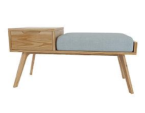 3D storage bench Jenson MADE