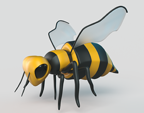 Bee Cartoon 3D