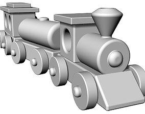 train toy 3D