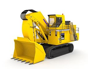 3D Komatsu PC2000-8 Excavator