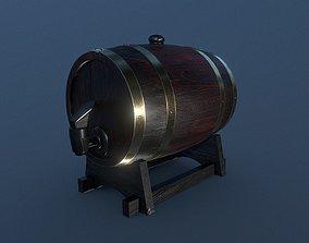 Barrel Keg 3D model