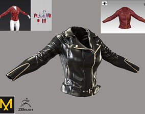 3D Female jacket