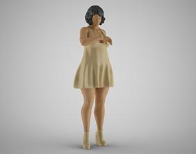 3D printable model Waiting Woman