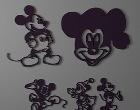MickeyMouse 3D print model