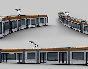 3D model Marseille France tramway