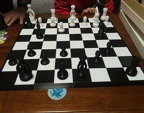 games 3D printable model Chess