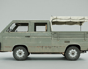 PBR germany PBR 3D Model - Volkswagen T3