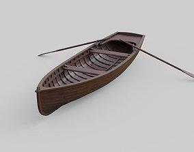 Rowboat 1D 3D model