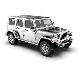 Jeep Commander - Strong Style 3D low-poly
