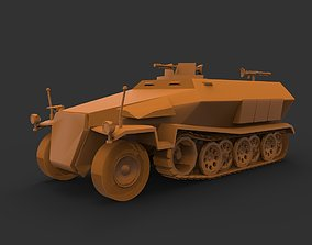 Sd Kfz 251C 3D printable model