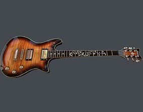 Guitar Schecter Tempest Classic 3D model