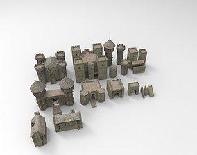 3D model Castle constructor