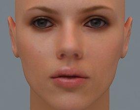Scarlett Johansson 3D model