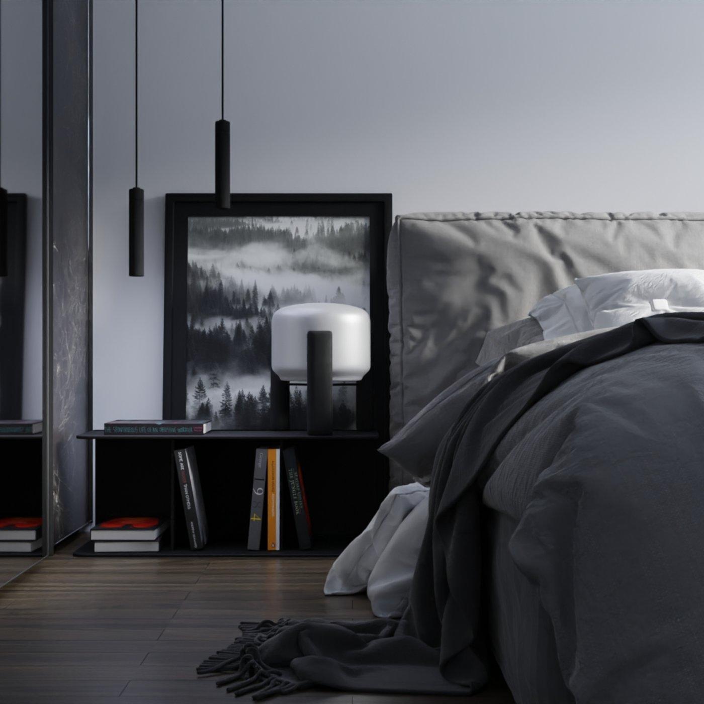 Interior/visualization of bedroom\loft
