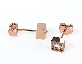 3D printable model Ice Earrings 2