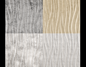 Decorative seamless wall 3d panel