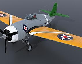 3D GRUMMAN F4F-3 WILDCAT 41F4