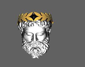 3D print model zeus ring 21mm