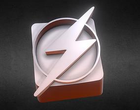 3D printable model Flash Logo KeyCap