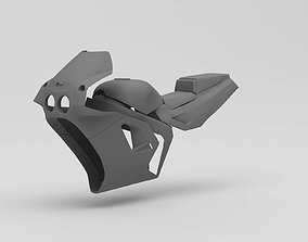 3D Printable 1990s Kawasaki ZX7 Body