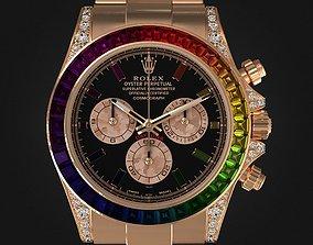 3D model Rolex Daytona Rainbow Watch