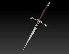 Dagger of Oberin guard 3D printable model