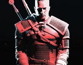 Geralt of Rivia 3D print model