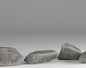 Stones Pack v1 3D asset