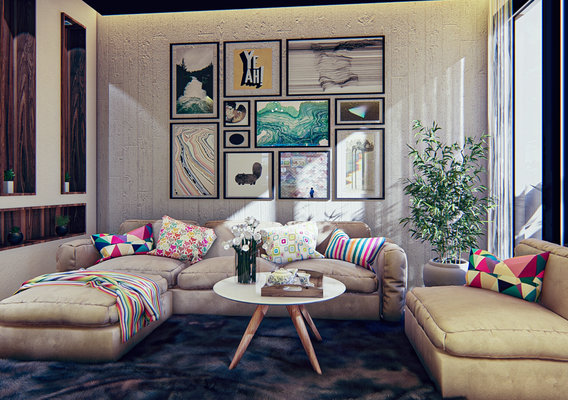 Interior Design of an appartement