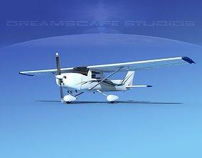 3D model Cessna 152 Commuter V07