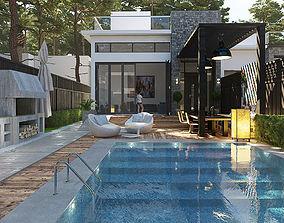 3D Private dual Villa