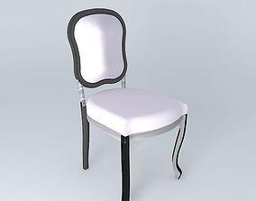 3D model Beautiful vintage chair