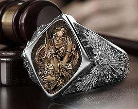 Themis ring 3D print model