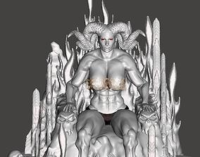 3D printable model Demone regina