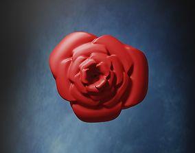 Simple Rose - stl and gltf 3D print model