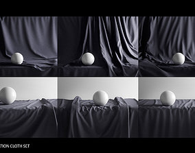 Presentation Cloth Set 3D