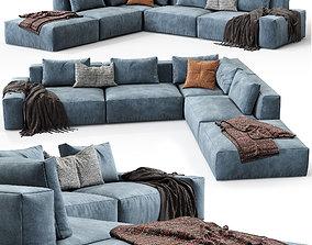 Jesse sofa Daniel composition 8 3D model