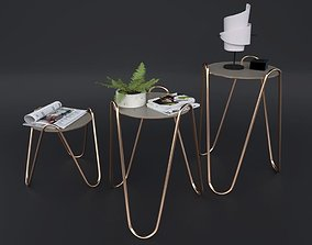 Side Table Apelle Chic 3D