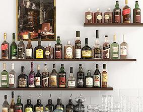3D model Alcohol Set 12